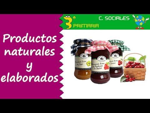 Ciencias Sociales. 3º Primaria. Tema 4. Productos
