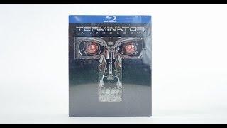 Terminator Anthology Blu-ray Disc Set Unboxing
