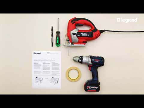 How to Install radiant® Furniture Power Centers | Legrand
