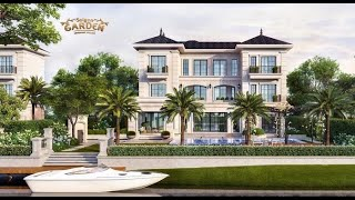 Cảnh quan hạ tầng Saigon Garden Riverside Village 2020- Tập Đoàn Hưng Thịnh