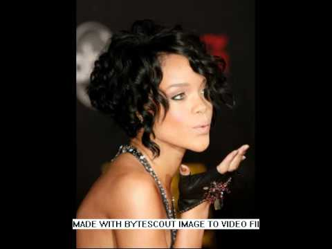 2009 Short Curly Bob Hairstyle with Layers - YouTube