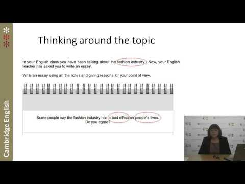 Cambridge English: First Writing – what's new and how can you help your learners?
