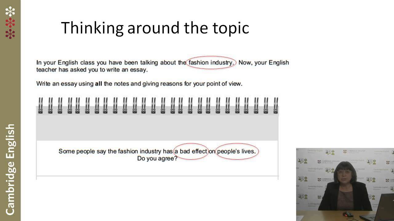 Need help learning to write an essay?
