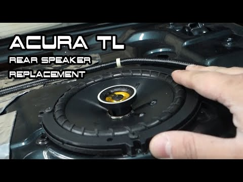 Replacing the Rear Speakers in Your Acura | 3G Acura TL DIY Rear Speaker Replacement