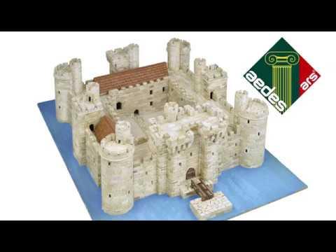 Aedes Ars - Bodiam Castle model kit