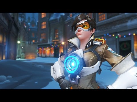 Overwatch - All Character Intros (2017 update)