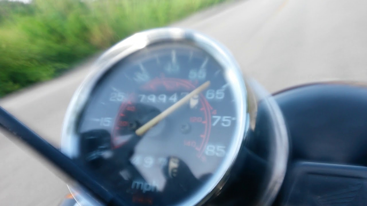 1991 honda nighthawk 750 top speed
