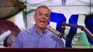 Colin reacts to Baker's beer chugging & says Dak is beholden to Amari — not Zeke   NFL   THE HERD