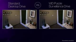 The difference between normal hard disk and a CCTV camera hard disk