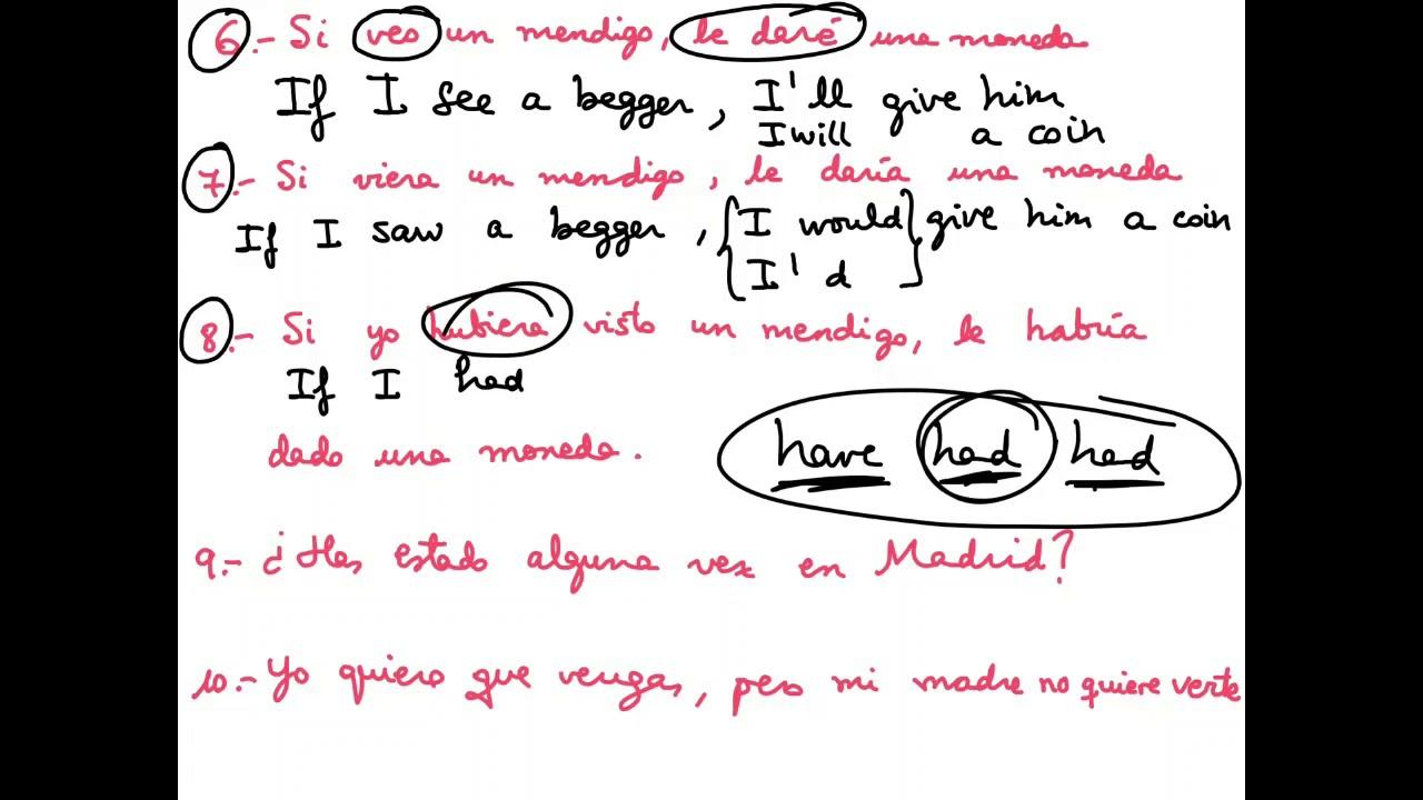 Inglés 4º Eso Frases Para Practicar Mainquifiblogspotcom Youtube