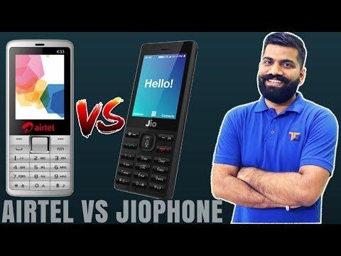 AirTel Vs Jio? AirTel 4G VoLTE Phone? JioPhone Rival? AirTel Plans?