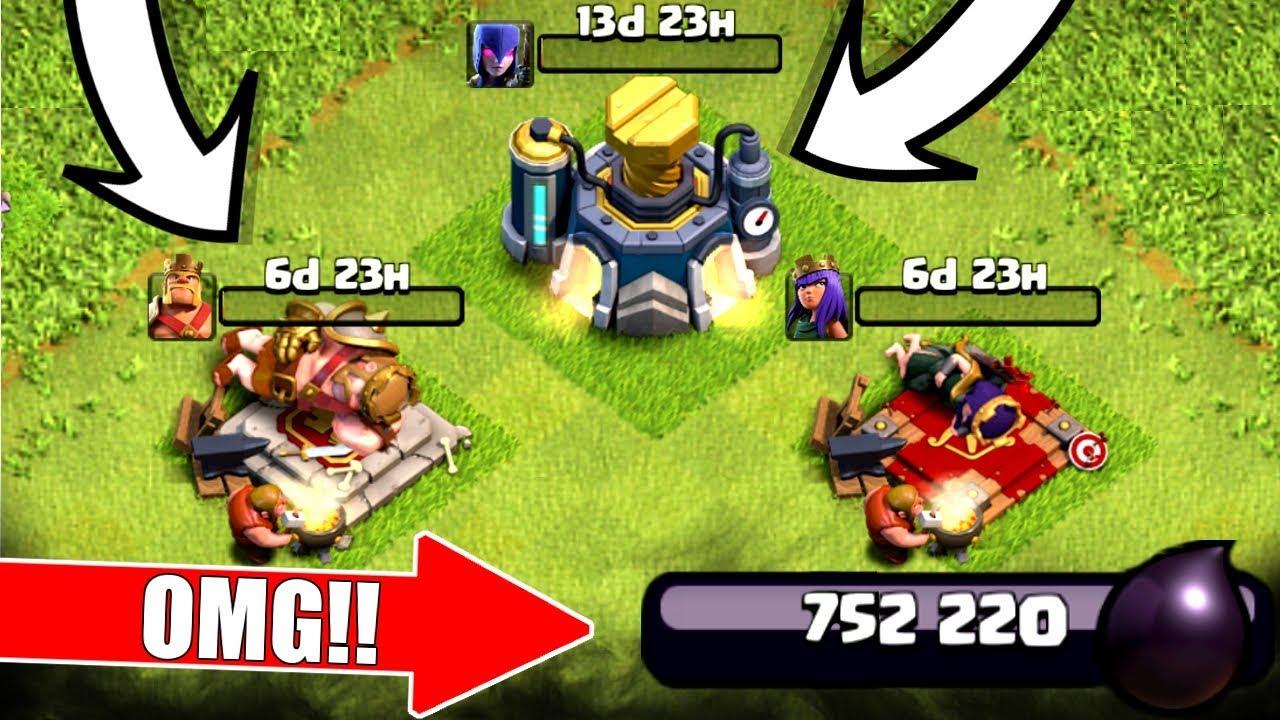 750,000 DARK ELIXIR SPENDING SPREE! - NEW LEVELS UPGRADED! - Clash Of Clans