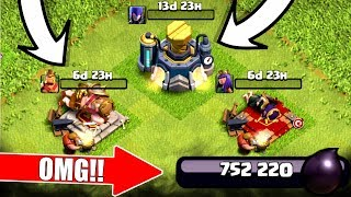750,000 DARK ELIXIR SPENDING SPREE! - NEW LEVELS UPGRADED! - Clash Of Clans