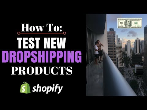 How To Test Shopify Dropshipping Products (Easiest Way)