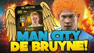 GINGER THE GREAT: MANCHESTER CITY DE BRUYNE! FIFA ULTIMATE TEAM