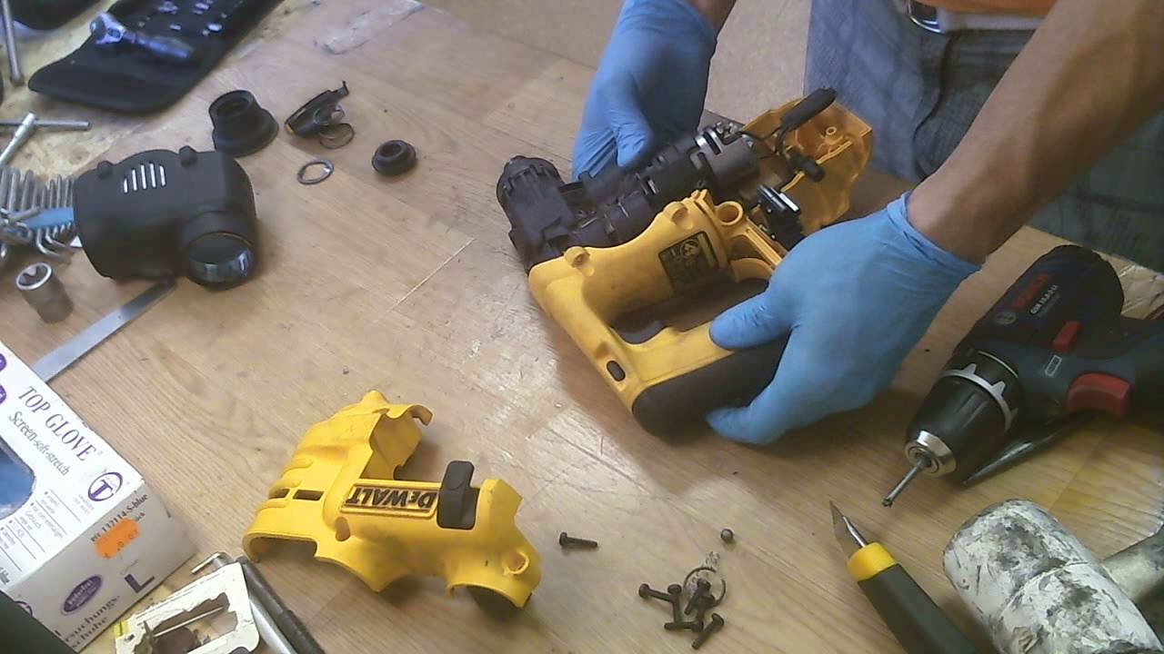 how to repair dewalt dc223 cordless hammer drill 24v nicd how to