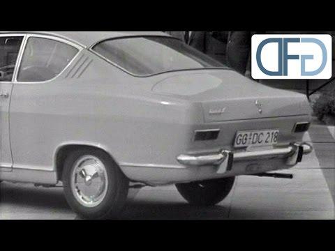 Opel Kadett Coupé auf der IAA 1965