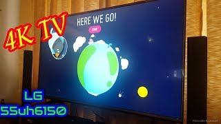 LG 55uh6150 Unboxing and Start-up - 4K Ultra HD - Smart TV - WebOS