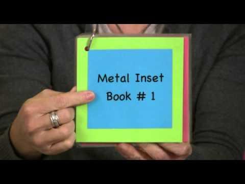 Montessori Language Lesson - Metal Insets Extensions