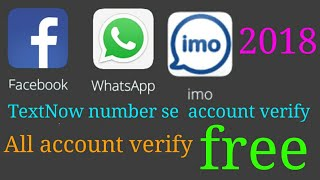 How to use textnow app with whatsapp videos / InfiniTube