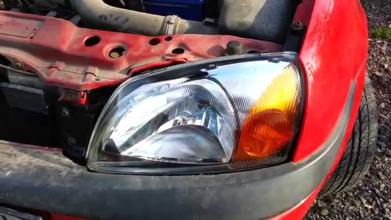 Replace Headlight Ford Fiesta Youtube