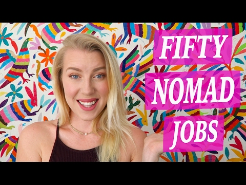 50 Digital Nomad Jobs - Ideas for Working Online