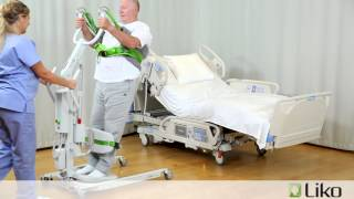 Hill-Rom | Liko® Lifts & Slings | Transfer Patient from Bed to Toilet