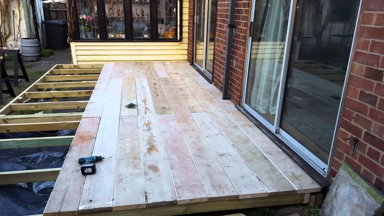 How to lay scaffold board flooring floor matttroy