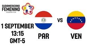 Paraguay v Venezuela - Full Game - South American Womens Championship 2018