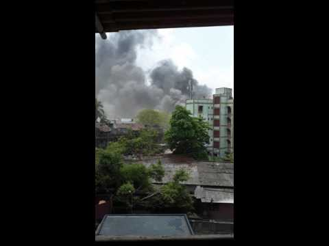 MIDC Phase 2 Blast Dombivli Short Footage From My Terrace