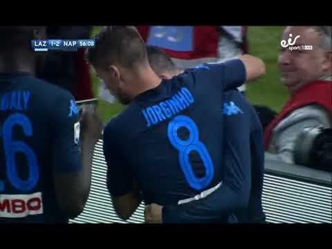 lazio vs napoli 1-4 match highlights...