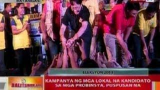 BT Kanya ng mga lokal na kandidato sa mga probinsya puspusan na