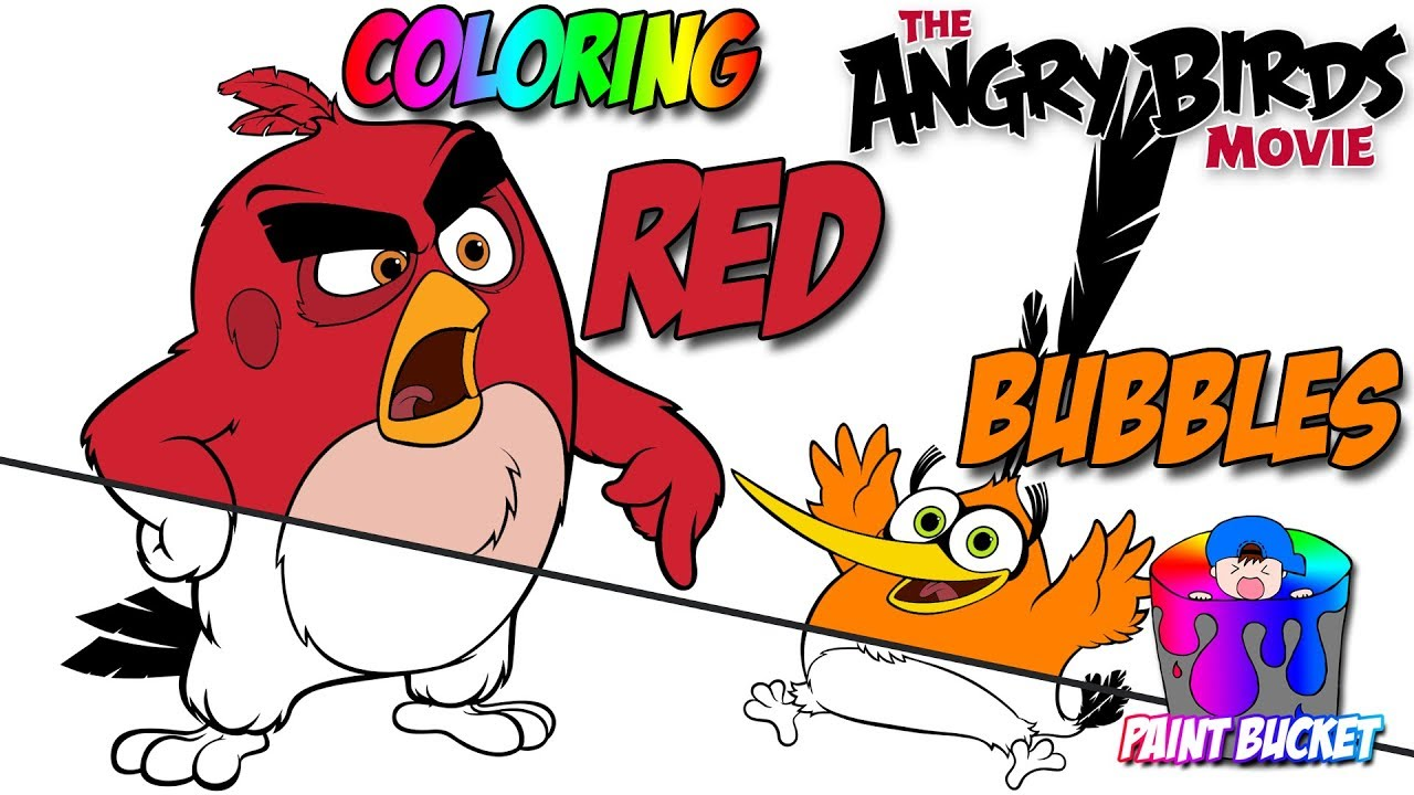 angry birds movie new coloring pages  angry birds