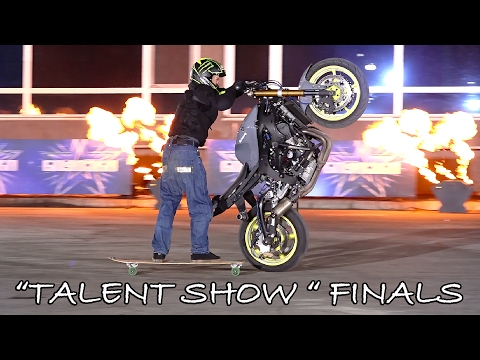 """STUNTER 13 - FINAL STAGE AT THE """"TALEN SHOW"""" FEAT. MEG"""