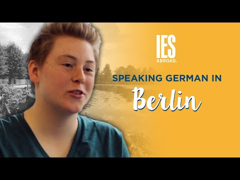 BERLIN | Study Abroad | Is it hard speaking German in Berlin?