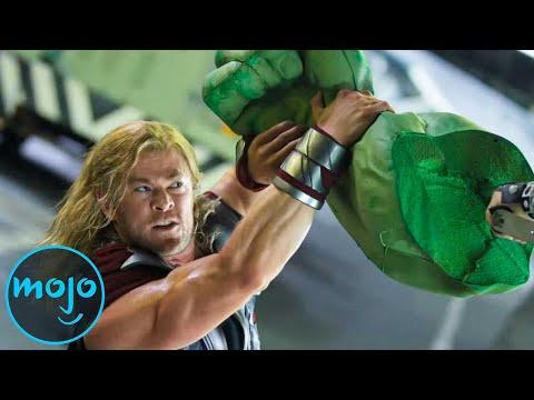 Top 10 CGI Vs Non CGI Character Fights In Film