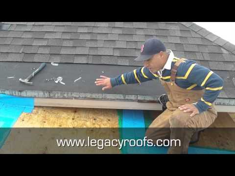 How To Tie In A Flat roof With A Shingle Roof - Legacy Flat Roofing & Sheet Metal