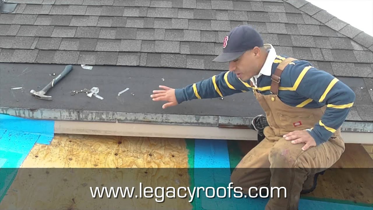 How To Tie In A Flat Roof With A Shingle Roof Legacy