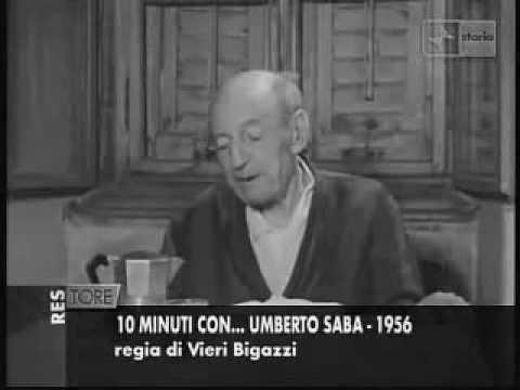 UMBERTO SABA IN TELEVISIONE