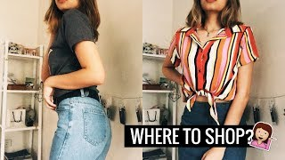 WHERE TO BUY? MOM JEANS, GRAPHIC & BASIC TEES (MURA + GOOD QUALITY) | Ann V