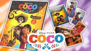 COCO Album Panini COMPLETO Estampas con Escenas de la Película! Unboxing Fantástico