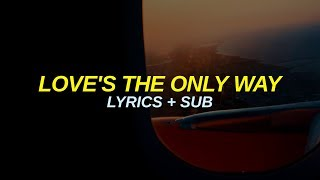 Cage The Elephant – Love's The Only Way Lyrics + Sub