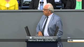 Helmut Brandt (CDU) und die Ehe für alle