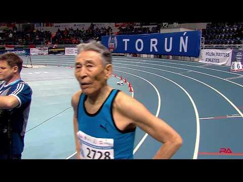 World Record Masters M85 400m Indoor at Torun 2019