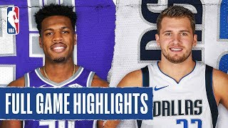 KINGS at MAVERICKS | FULL GAME HIGHLIGHTS | December 8, 2019 Video