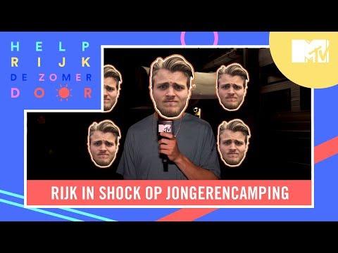 Rijk in SHOCK op jongerencamping! | Help Rijk de Zomer Door afl. 1