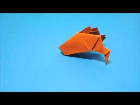 簡単 折り紙:トナカイ 折り紙 簡単-youtube.com