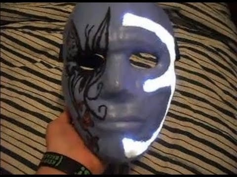 my johnny 3 tears mask with lights explained youtube