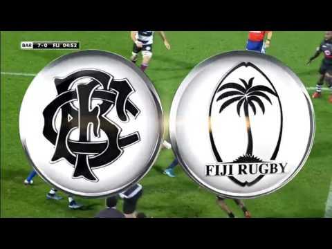 Rugby union 2016 Week 2 Barbarians v Fiji 11 11 2016   Full game
