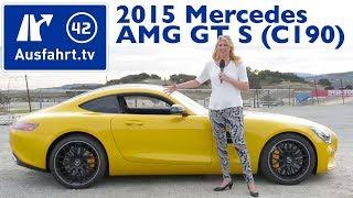 2015 Mercedes AMG GT / GTS (C190) -  Fahrbericht Test Review Vorstellung